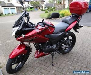 2013 HONDA CBF 125cc sports motorcycle BIKE dark metallic RED Superb condition for Sale