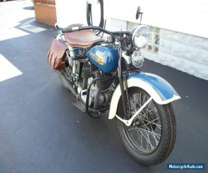 1936 Harley-Davidson VLD for Sale