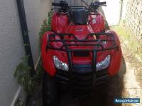 Honda fourtrax  trx 420FM 2012  4WD quad bike