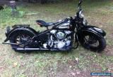 1947 Harley-Davidson FL for Sale
