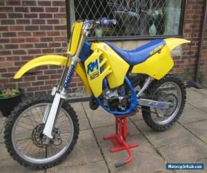 1989 Suzuki RM125 Evo Motocross bike  for Sale