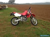Honda xr650r motorbike