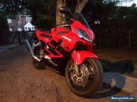 2001 HONDA CBR 600 FS RED F4I