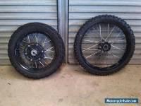 Complete F/R Wheels BMW F800 GS