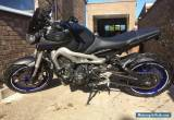 YAMAHA MT - 09 GREY 2013 for Sale