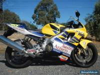 HONDA CBR 600 ROSSI REPLICA IN SUPURB CONDITION SUIT COLLECTOR