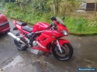 2005 SUZUKI SV 650 SK5 RED