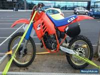 HONDA CR 125 1987 EVO, PROJECT, RESTORED, BARN FIND YZ KX RM