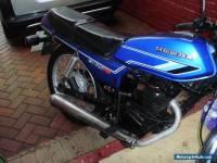 honda cb125 rs motrcycle. 125cc 1984 (b reg) blue. very rare model