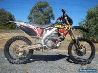 HONDA CRF 450 WITH LOTS OF EXTRAS INCLUDING LIGHTING KIT