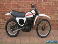 1974 YAMAHA YZ250B MOTOCROSS MOTORCYCLE - EXCELLENT CONDITION