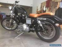 Custom 1982 Harley Davidson Sportster, Full rego