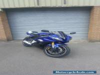 2008 YAMAHA YZF R6 08 BLUE 600cc