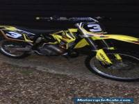 SUZUKI RM 125 2008 MOTOCROSS Bike EXCELLENT CONDITION WITH EXTRAS Stand