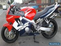 2002 HONDA CBR 600 F MULTI-COLOURED F4i nearly 'new'