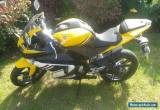 yamaha yzf r125 2008 2,500 miles one owner for Sale
