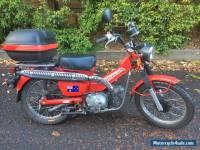 Honda CT110 GREAT POSTIE BIKE