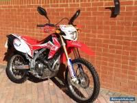 2013 HONDA CRF 250 L-D RED