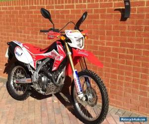2013 HONDA CRF 250 L-D RED for Sale