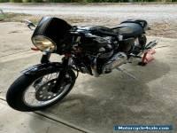motorcycle Triumph Thruxton 900 Cafe Racer