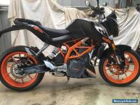 KTM DUKE 390 2015 looks perfect but fresh water immersed