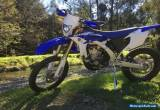 YAMAHA WR450F Enduro/Offroad 2015 for Sale