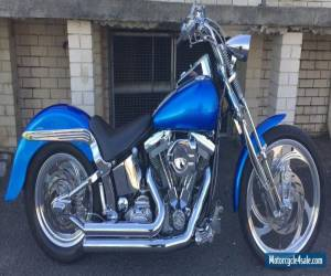 Harley Davidson Softail Custom with Arlen Ness Wheels, Custom Paint for Sale
