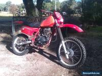 1983 HONDA XR 350 WITH SUZUKI DR 500 MOTOR FITTED