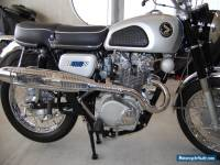 "1967 Honda CB450D Super Sport K0 with the very rare Scrambler Factory ""D-Kit""."