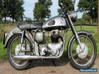 Norton Dominator  Model 99 Year 1957 in first paint with original dutch papers