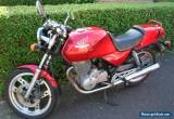 1985 HONDA XBR500F RED for Sale