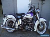 HARLEY DAVIDSON 1963 FL pan head Duo Glide unrestored