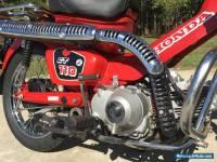 2012 HONDA CT110 POSTIE BIKE CT 110X 24,000 KLMS! be quick