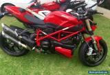 Ducati 04/2015 StreetFighter for Sale