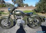 2015 ROYAL ENFIELD 500 BULLET CLASSIC  - ONLY 1105 KILOMETRES for Sale