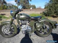 2015 ROYAL ENFIELD 500 BULLET CLASSIC  - ONLY 1105 KILOMETRES