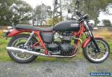 TRIUMPH BONNEVILLE with ONLY 2937ks 3/16 Rego Rare Color! for Sale