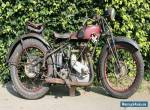 Royal Enfield 501 Year 1930 big 500cc sidevalve in old paint a beauty  for Sale