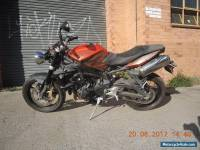 TRIUMPH 675 STREET TRIPLE R 2010 GREAT ROAD TRACK OR STUNT BIKE CHEAP DAYTONA