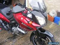 DL650 V-Strom Red great condition well cleaned and maintained