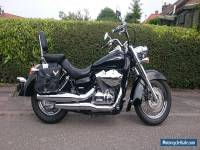 Honda Shadow VT750C Black & Chrome Cruiser Motorcycle