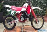 Yamaha yz 250 n 1985 evo twinshock pre 85 for Sale