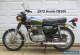 1972 Honda CB for Sale