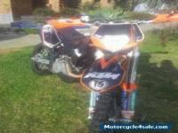 ktm 530 exc trail bike