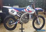 Yamaha yzf450 yz450f 2016 factory forks talon wheels trick parts too look for Sale