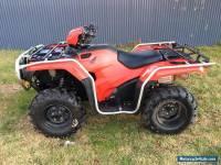 LATE MODEL HONDA TRX 500 FM LOW KMS , VERY GOOD TYRES ATV QUAD