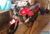 Yamaha YBR125 - good condition, 2007, 9k miles for Sale