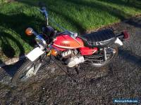 Yamaha DT80H motor cycle