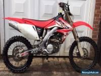CRF250X motorcross bike