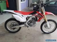 Honda CRF250R motocross bike 2017 model brand new never used